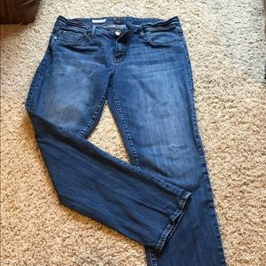 Kut from the Kloth boyfriend straight leg jean
